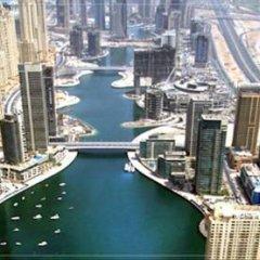 Отель Furnished Rentals ARY Marina Tower Dubai Marina бассейн