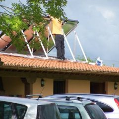 Отель Posada el Remanso de Trivieco парковка