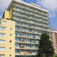 Отель Sunny Varshava Hotel Болгария, Золотые пески - 1 отзыв об отеле, цены и фото номеров - забронировать отель Sunny Varshava Hotel онлайн вид на фасад фото 3