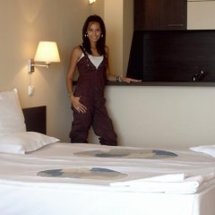 Отель Carina Beach Aparthotel - Free Private Beach Солнечный берег в номере