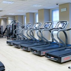 Отель JW Marriott Grosvenor House London фитнесс-зал фото 4