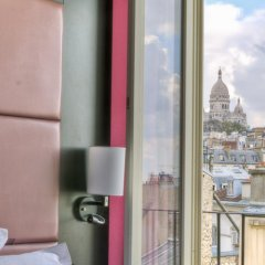 Отель Ibis Styles Pigalle Montmartre Париж балкон
