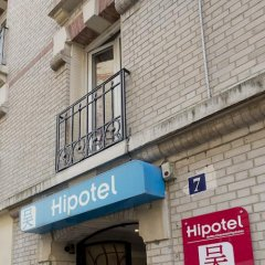 Отель Hipotel Paris Belleville Pyrenees парковка