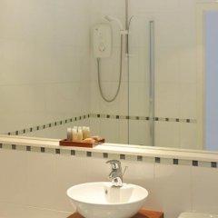 Отель Riverview Apartments Великобритания, Глазго - отзывы, цены и фото номеров - забронировать отель Riverview Apartments онлайн ванная