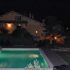 Отель La Fiordispina Сполето бассейн