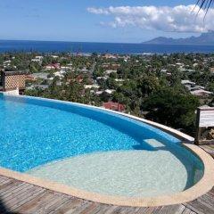 Отель Tahiti Relocation Пунаауиа бассейн
