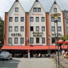 Отель Kunibert der Fiese Германия, Кёльн - отзывы, цены и фото номеров - забронировать отель Kunibert der Fiese онлайн парковка