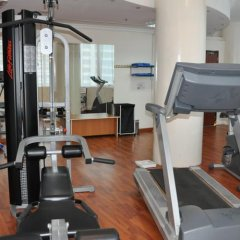 Grand Continental Flamingo Hotel Абу-Даби фитнесс-зал