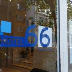 Отель 66 Германия, Гамбург - отзывы, цены и фото номеров - забронировать отель 66 онлайн вид на фасад фото 2