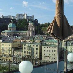 Hotel Stein Зальцбург приотельная территория