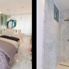 Отель Studios Paris Bed & Breakfast Le Jardin de Montmartre Париж ванная