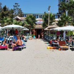 Отель Villa Kamelia 2 Албания, Голем - отзывы, цены и фото номеров - забронировать отель Villa Kamelia 2 онлайн пляж
