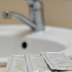 Отель Širvintos viešbutis Литва, Мариямполе - отзывы, цены и фото номеров - забронировать отель Širvintos viešbutis онлайн ванная