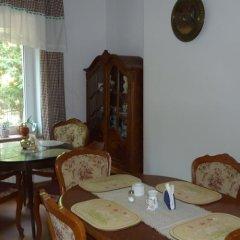 Отель Hotelik Na Zdrowiu питание