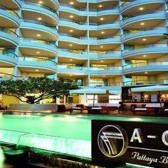 Отель A-One Pattaya Beach Resort балкон