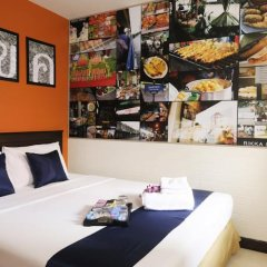 Отель Rikka Inn Бангкок питание