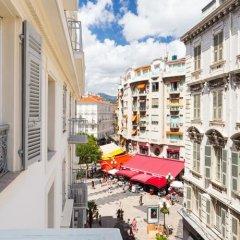Апартаменты Studio hyper-centre Rue Paradis балкон