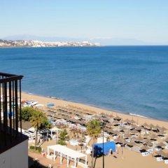 Отель Angela Испания, Фуэнхирола - отзывы, цены и фото номеров - забронировать отель Angela онлайн пляж фото 2