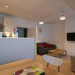 Апартаменты Acorn Gower Street Apartments Лондон комната для гостей фото 2