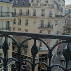 Отель Hôtel Opera Lafayette балкон