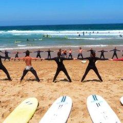 Отель Surf Yoga Ericeira Guest House спортивное сооружение