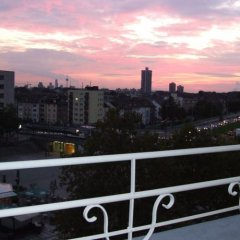 Апартаменты Apartment My Messe & Business Home 3 Кёльн балкон