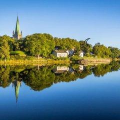 Отель Nidaros Pilegrimsgård Норвегия, Тронхейм - отзывы, цены и фото номеров - забронировать отель Nidaros Pilegrimsgård онлайн приотельная территория