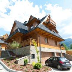 Отель Apartamenty Sun&Snow Resorts Lipki Park Zakopane парковка