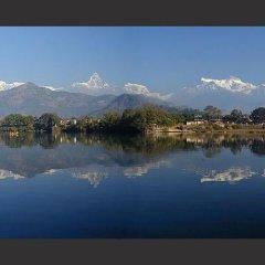 Отель Anadu House Непал, Покхара - отзывы, цены и фото номеров - забронировать отель Anadu House онлайн приотельная территория фото 2