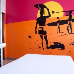 Hostel & Surfcamp 55 фитнесс-зал