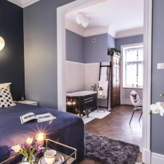 Отель Apartamenty Ambasada Польша, Варшава - отзывы, цены и фото номеров - забронировать отель Apartamenty Ambasada онлайн комната для гостей фото 5
