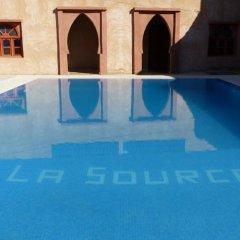 Отель Auberge La Source Марокко, Мерзуга - отзывы, цены и фото номеров - забронировать отель Auberge La Source онлайн бассейн фото 3