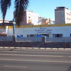 Отель Hostal Lleida парковка