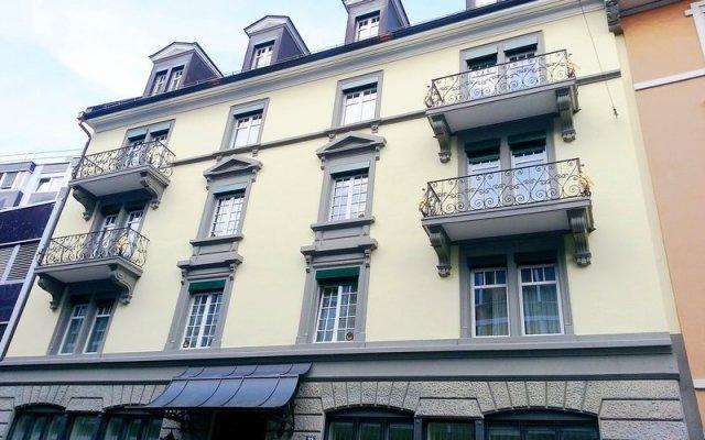 Апартаменты Ema House Serviced Apartments, Superior Standard, Unterstrass Цюрих вид на фасад
