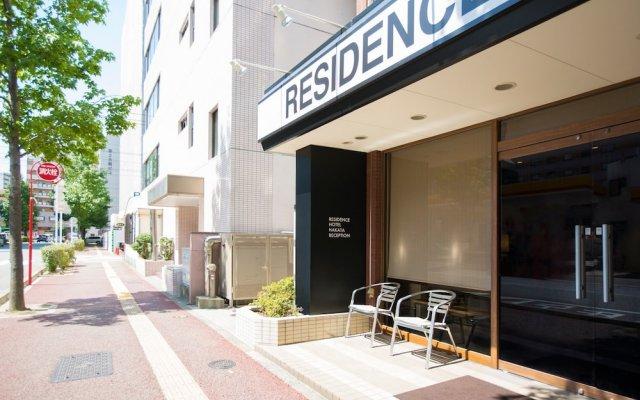 Отель Residence Hakata 9 Фукуока вид на фасад