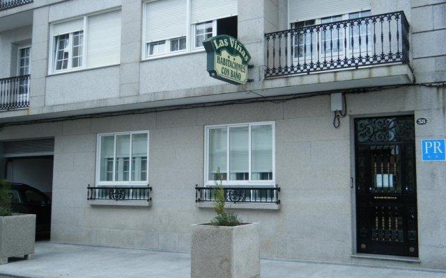 Отель Hostal As Viñas вид на фасад