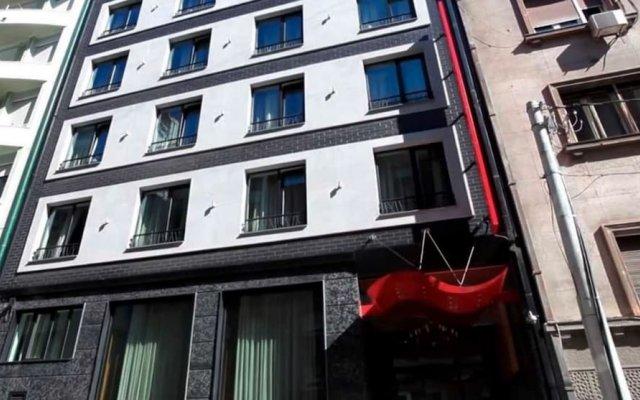 Crystal Hotel Belgrade вид на фасад