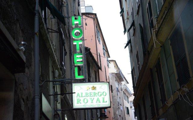 Отель Albergo Royal Генуя вид на фасад