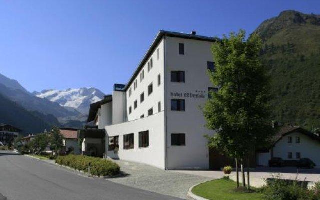 Hotel Cevedale Стельвио вид на фасад
