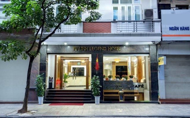 Tu Linh Legend Hotel вид на фасад