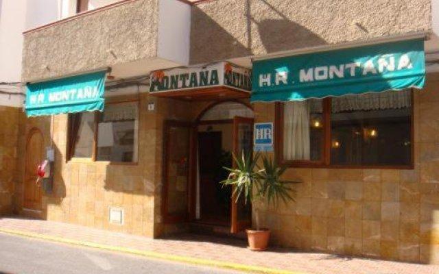 Отель Hostal Montaña Испания, Сан-Антони-де-Портмань - отзывы, цены и фото номеров - забронировать отель Hostal Montaña онлайн вид на фасад