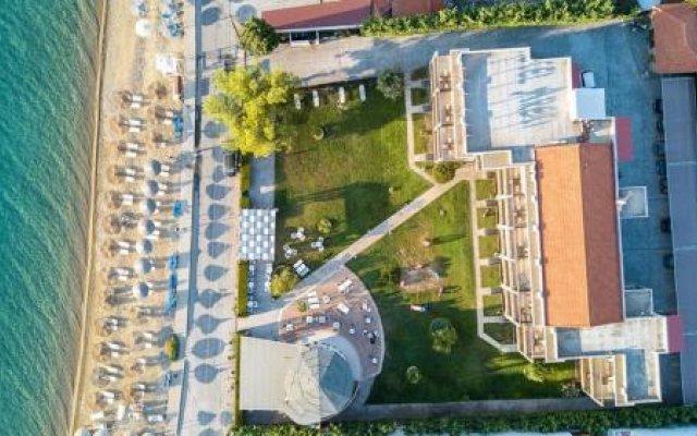 Hotel Areti Ситония вид на фасад
