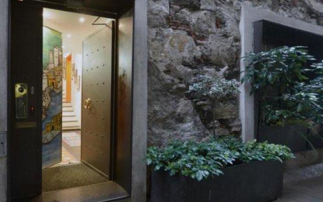 Отель B&B dell'Acquario Генуя вид на фасад