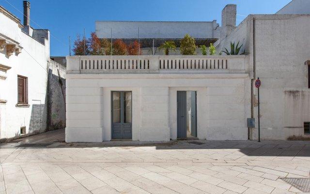 Отель Casa Decò Пресичче вид на фасад