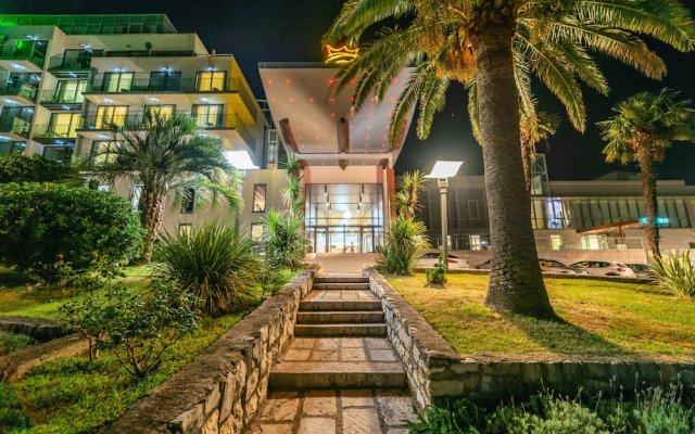 Falkensteiner Hotel Montenegro вид на фасад