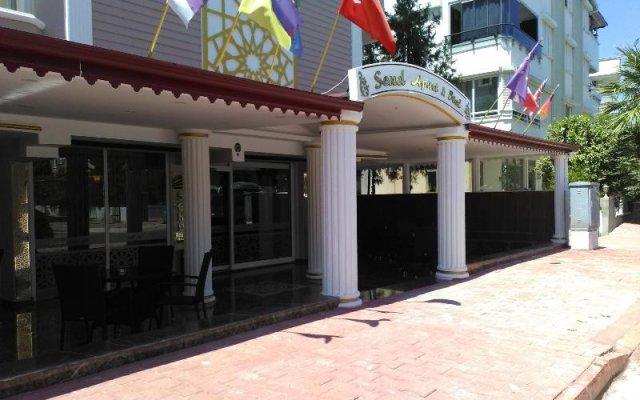 Отель Send Apart Otel вид на фасад