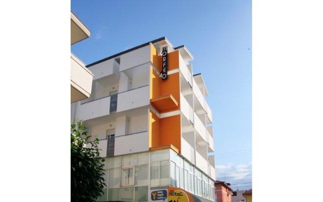 Отель Villa Jasmine Римини вид на фасад
