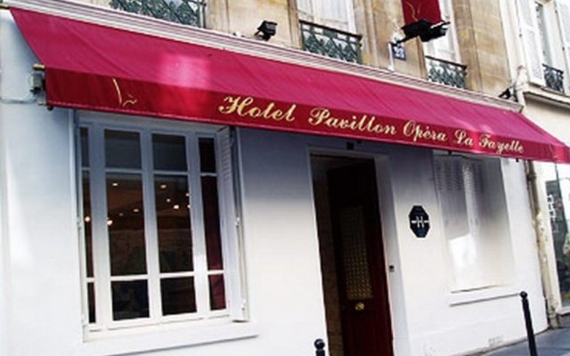 Отель Pavillon Opéra Lafayette вид на фасад