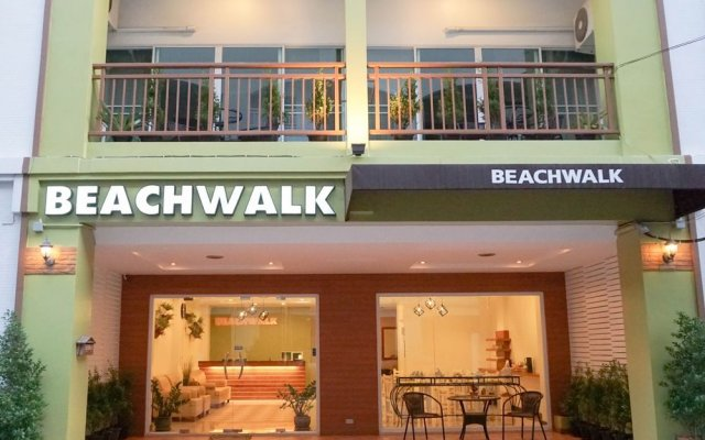 Отель Beachwalk Jomtien вид на фасад