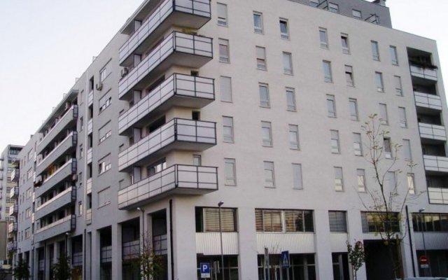 Отель Apartman Srce Zagreba вид на фасад
